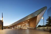 Central railway station, Benthem Crouwel & MVSA Architects, Rotterdam, Netherlands